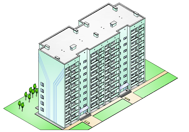 Дипломный проект ПГС Жилой дом на квартиры Дипломные  Содержание