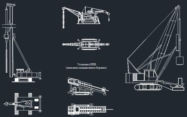 Mobile Crane Cad Block : Dwg